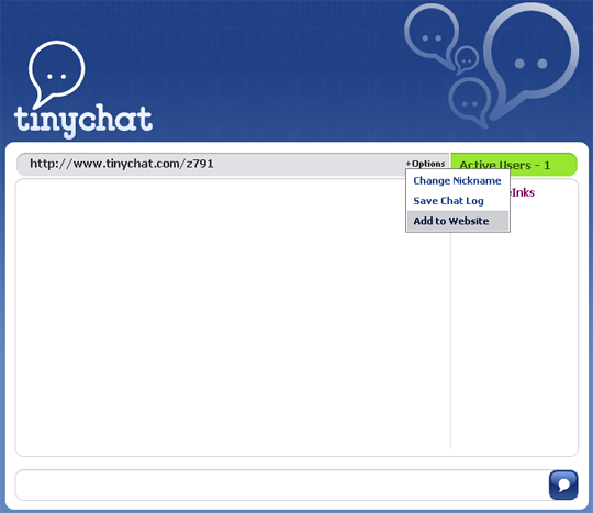 tiny chat rooms