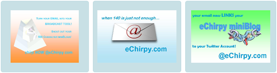 echirpy mini blog
