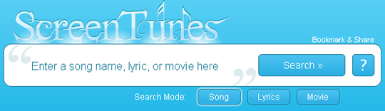 screentunes search