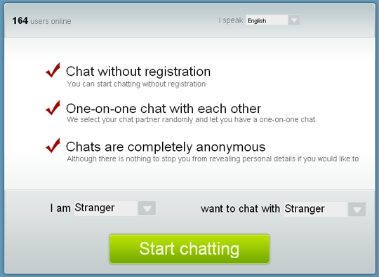 only chat anonymous random chat