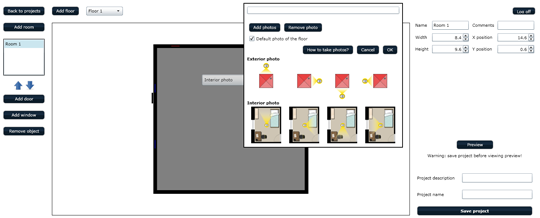 Buildy free online floor plan creator orangeinks for Online floor plan generator