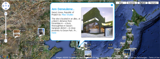 Architizer Map
