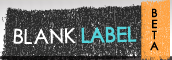 blank label logo