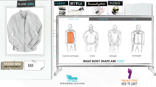 blank label shirt creator