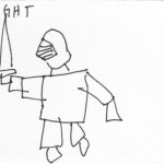 fastest possible drawing of knight