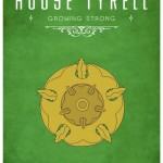 Game of Thrones Minimalist Poster House Tyrekk
