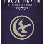 Game of Thrones Minimalist Poster House of Arryn
