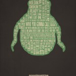 Typography Movie Poster Ghost Busters
