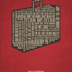 Typography Movie Poster Pulp Fiction