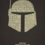 Typography Movie Poster Star Wars Return of the Jedi