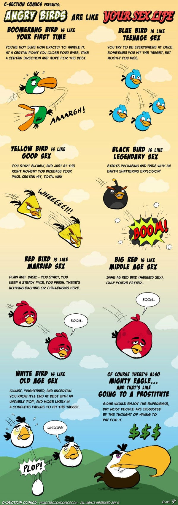 sex compared to angry birds amatuer adult sex