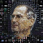 steve jobs art apple products black