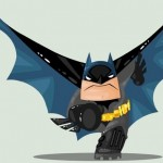 Cute DC Superheroes Art Batman