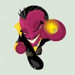 Cute DC Superheroes Art Sinestro