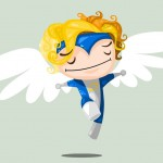 Cute Marvel Superheroes Art Angel