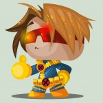 Cute Marvel Superheroes Art Cyclops