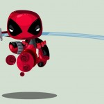 Cute Marvel Superheroes Art Deadpool