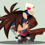 Cute Marvel Superheroes Art Gambit