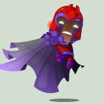 Cute Marvel Superheroes Art Magneto