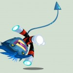 Cute Marvel Superheroes Art Nightcrawler