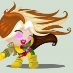 Cute Marvel Superheroes Art Rogue