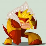 Cute Marvel Superheroes Art Sabretooth