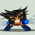 Cute Marvel Superheroes Art Wolverine