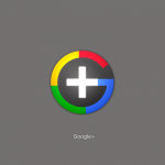 Google plus wallpaper grey
