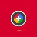 Google plus wallpaper red