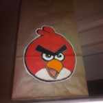 Paper Lunch Bag Art Angry Birds