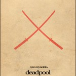Minimalist Parchment Movie Poster Deadpool