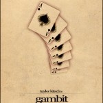 Minimalist Parchment Movie Poster Gambit