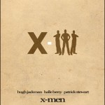 Minimalist Parchment Movie Poster X-Men
