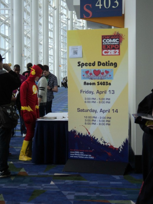 flash on speed dating