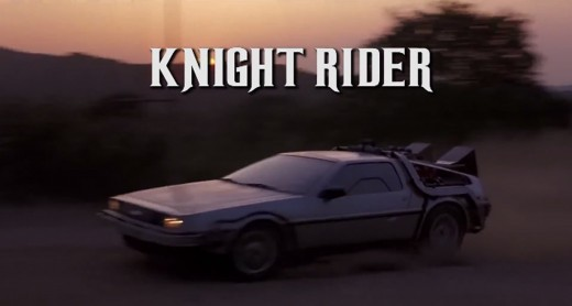 knight rider back to the future