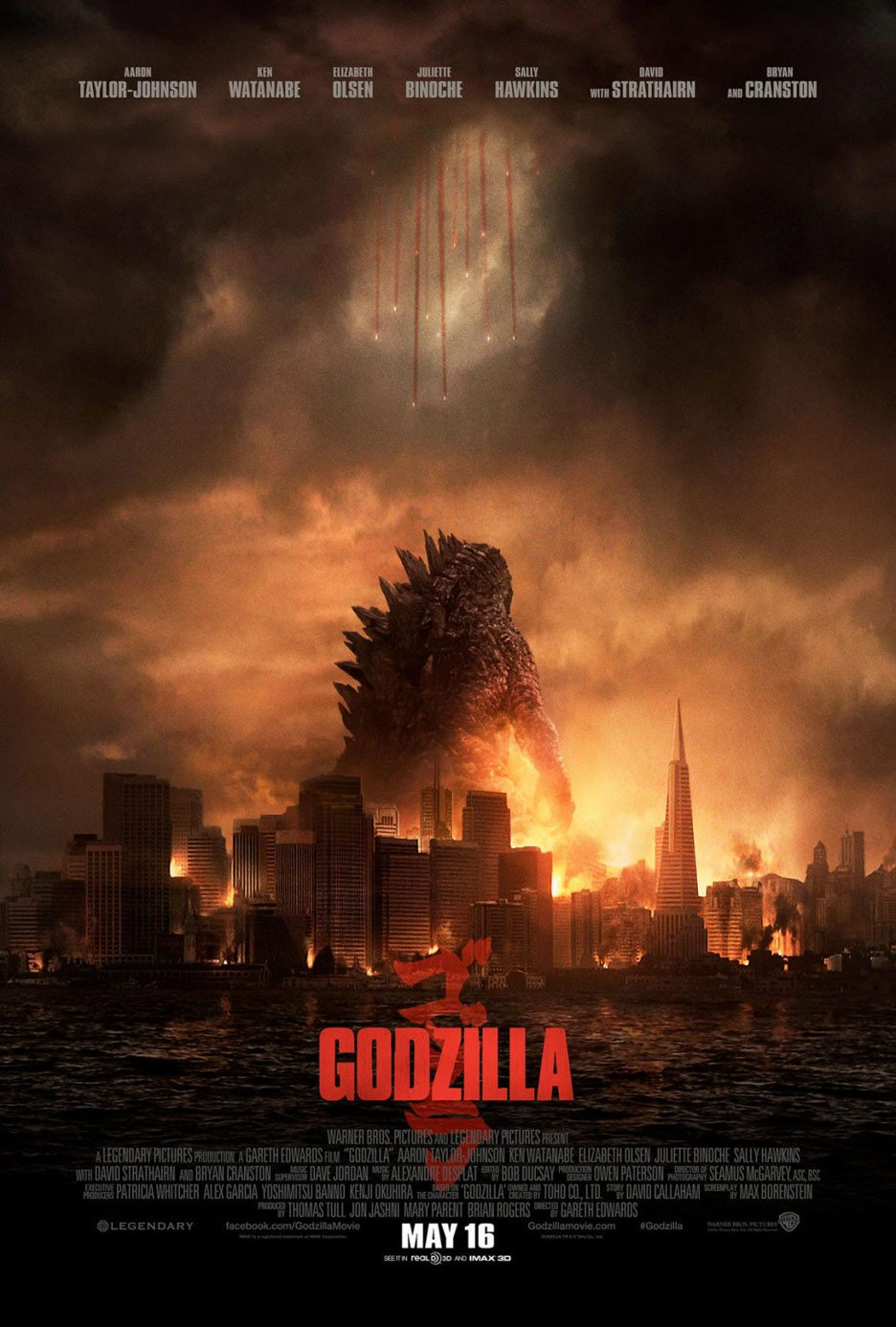 Godzilla 2014 Official Theatrical Trailer